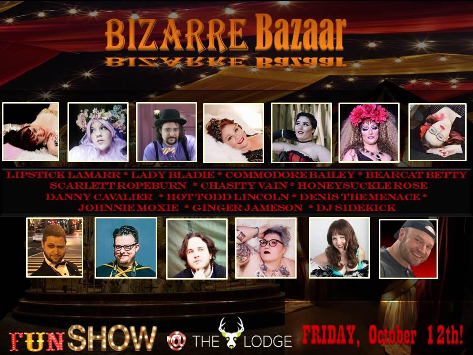 Bizarre Bazaar Promo