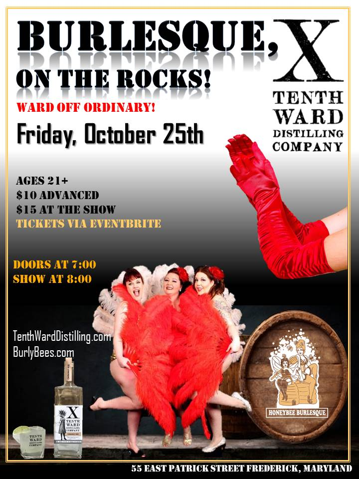 Burlesque, on the Rocks! 10.25