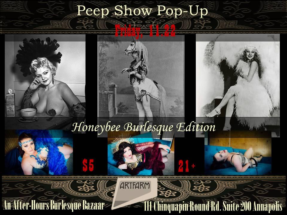 Peep Show Pop Up 11.22